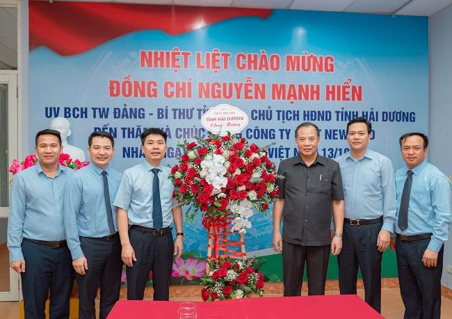 Lãnh đạo tỉnh thăm và chúc mừng các doanh nghiệp nhân Ngày Doanh nhân Việt Nam